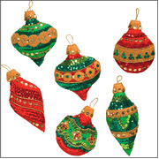 kits felt applique ornaments br 30 items