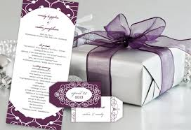 best wedding programs best of 2012 color monday truly engaging wedding