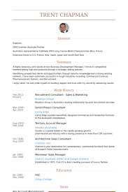 Sales And Marketing Resume Examples by Recruitment Consultant Resume Samples Visualcv Resume Samples