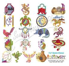 southwestern designs collectibles southwest embroidery designs 970256