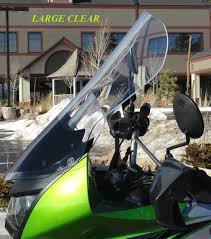 kawasaki klr650 windshield 2008 present clearview shields