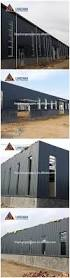 high rise prefabricated steel structure building view steel
