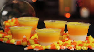 make candy corn shots youtube