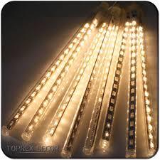 colorful lights led rain drop christmas lights 12v with us plug