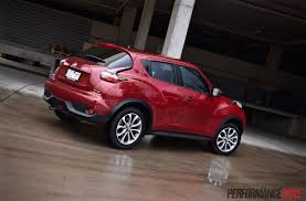 nissan juke red 2015 nissan juke ti s awd review video performancedrive