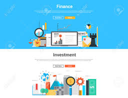 flat design graphic image concept website elements layout of
