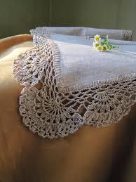 linen table runner lace table runner housewares tabletop decor