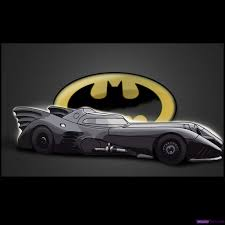 cartoon sports car side view how to draw the batmobile step by step dc comics comics free