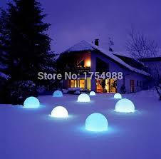 floating pool ball lights free shipping 20cm ip68 led floating ball led magic ball led