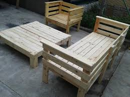 Patio Furniture Made Of Pallets - elegant pallet outdoor furniture new home design