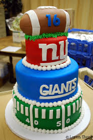 3 tier halloween birthday cake the baking sheet 3 tier new york giants football cake