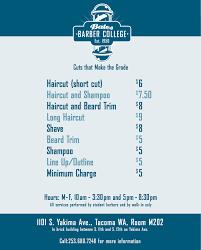 bates technical college barber shop