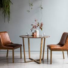 round marble dining table and chairs gatsby marble top dining table brown gold round dining tables