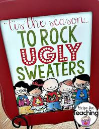 ugly sweater party recipe for teaching