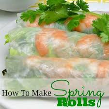 where to buy rice paper wraps rolls recipe whats cooking america