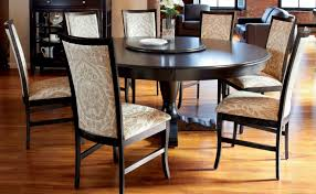 table unforeseen 6 seater round extendable dining table