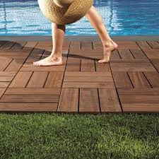 hard wood deck tiles at rs 500 square feet decking tiles
