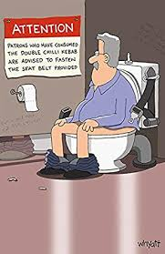 humorous birthday cards traces of nuts on toilet rude humorous birthday card