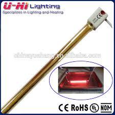 quartz glass infrared heater lamp tube quartz glass infrared