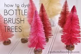 valentine bottle brush trees