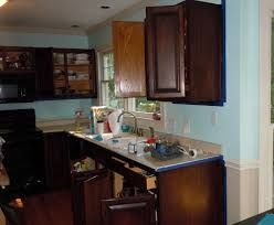 Kitchen Cabinets Staining by How To Gel Stain Your Kitchen Cabinets