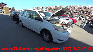 parting out 2006 toyota sienna stock 5175yl tls auto recycling