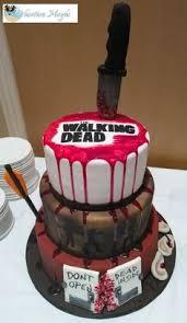 walking dead cake ideas walking dead and the dead end con walking dead cake and