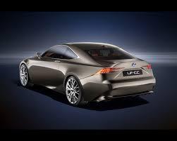 lexus hybrid sport coupe lf cc full hybrid coupé concept 2012