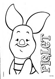 fresh piglet coloring pages 74 free coloring book