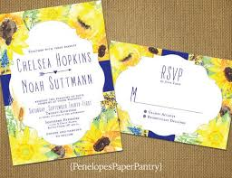 Sunflower Wedding Invitations 29 Best Sunflower Wedding Invitations Images On Pinterest