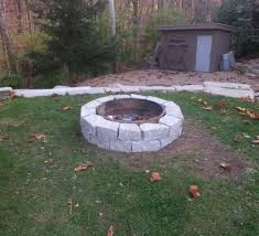 Ohio State Fire Pit by Snapped U0026 Split Products U2013 Ohio Stone