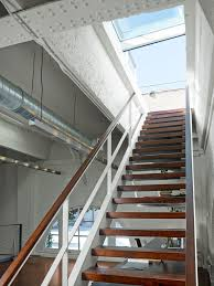 Retractable Stairs Design Industrial Loft Skylight Retractable Stairs Loft Ideas