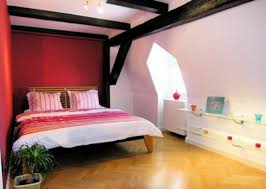 bedroom gorgeous pink paint color design interior for girls
