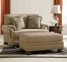 Chenille Sofa And Loveseat Joyce Traditional Tan Oversized Chenille Sofa Couch Set Living