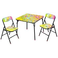 Folding Childrens Table And Chairs Childrens Table And Chairs Ebay Wooden Table And Chairs Desk