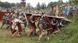 si e romer volksfest an der via varus antike zum anfassen 20000 besucher