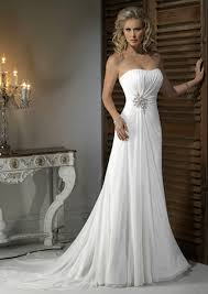 buy cheap chiffon handmade beading wedding dresses for the beach