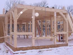 scott watson construction timber frame home