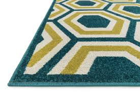 Yellow Indoor Outdoor Rug 100 Catalina Rug Kas Catalina Collection Rugs Floral Wool