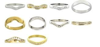 curved wedding band to fit engagement ring how to match engagement rings with wedding bands