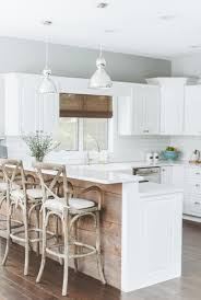 white kitchen wood island in the details white kitchen wood island coco kelley coco
