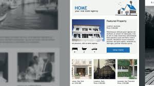 Free Real Estate Template by Real Estate Email Marketing Free Newsletter Templates For