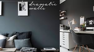 dark walls decorate with dark wall colours black charcoal green blue