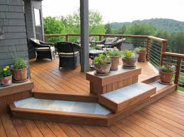 Pictures Of Backyard Decks by Vcg Construction Deck Versus Patio U2013 3 Ways To Choose Between Them