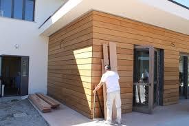 rivestimento facciate in legno rivestimento facciate in legno avec di facciata con scanalature a