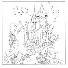 underwater dinosaurs coloring pages underwater coloring page mstaem org