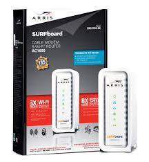 amazon com arris surfboard ac1600 docsis 3 0 cable modem router