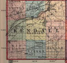 Map Of Illinois Counties Kendall County Illinois Maps And Gazetteers