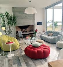 hernan arriaga home of sofia zamolo featuring the bubble sofa