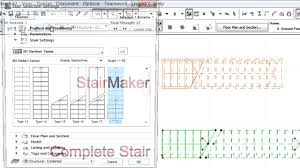 stair and railing library parts in archicad youtube